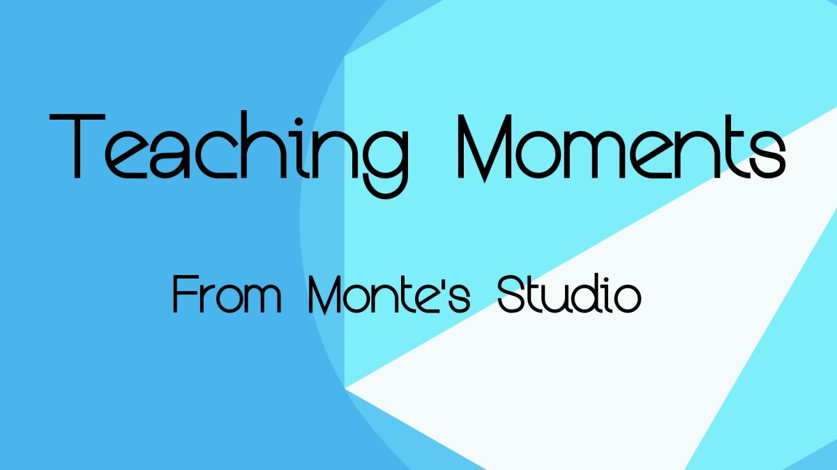 Happy moments from Monte's Studio